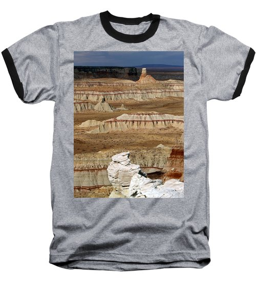 Coal Mine Mesa 19 Baseball T-Shirt by Jeff Brunton