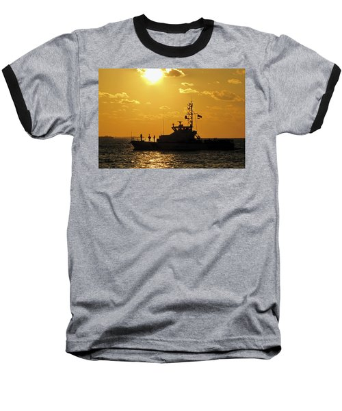 Coast Guard In Paradise - Key West Baseball T-Shirt