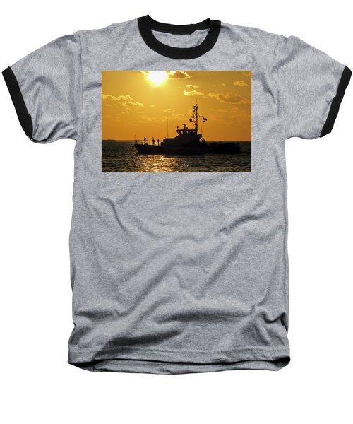 Coast Guard In Paradise - Key West Baseball T-Shirt