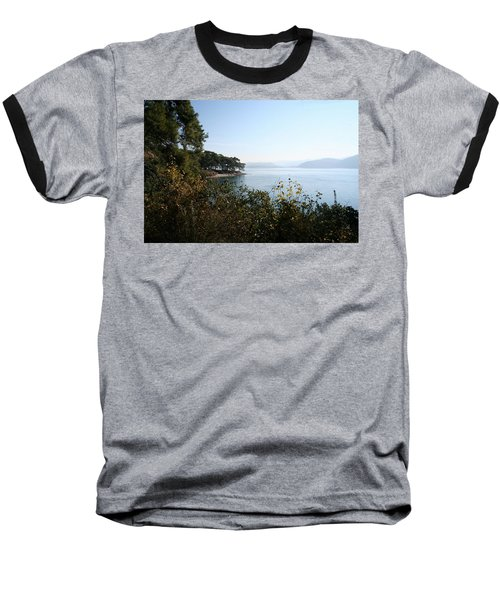 Baseball T-Shirt featuring the photograph Coast by Tracey Harrington-Simpson