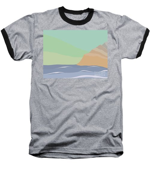 Coastal Bank Baseball T-Shirt by Henry Manning