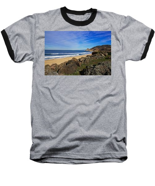 Coastal Beauty Baseball T-Shirt by Dave Files