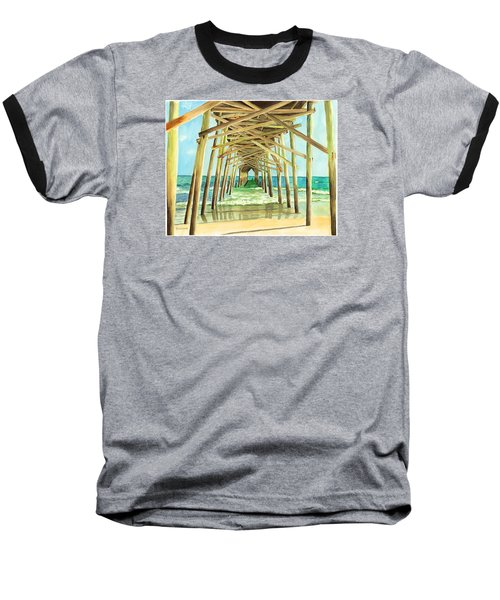 Coastal Cathedral  Baseball T-Shirt