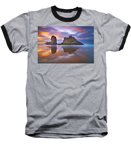 Coastal Cloud Dance Baseball T-Shirt