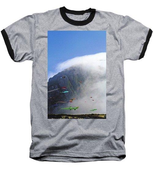 Coastal Kites Baseball T-Shirt