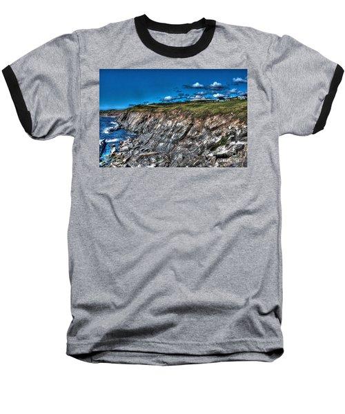 Baseball T-Shirt featuring the photograph Coastal Nova Scotia by Joe  Ng
