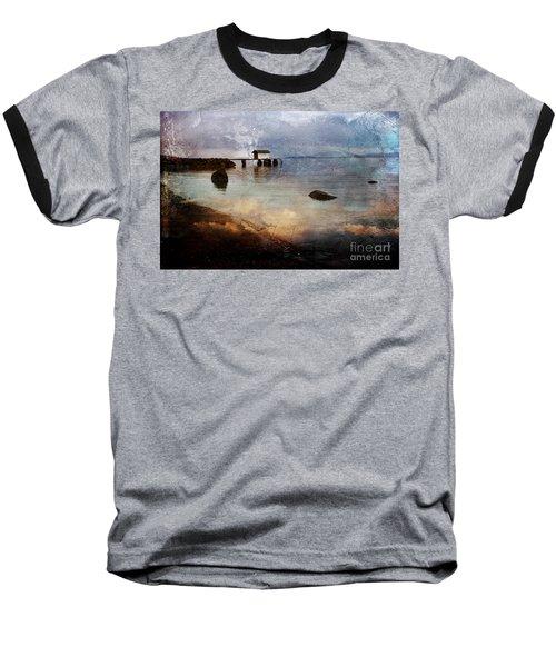 Coastal Path Baseball T-Shirt by Randi Grace Nilsberg