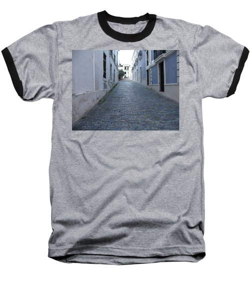 Baseball T-Shirt featuring the photograph Cobble Street by David S Reynolds