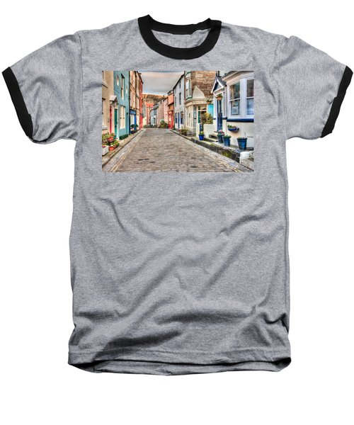 Cobbled Street Baseball T-Shirt
