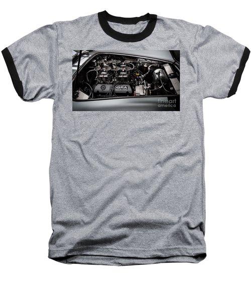 Baseball T-Shirt featuring the photograph Cobra Engine by Matt Malloy