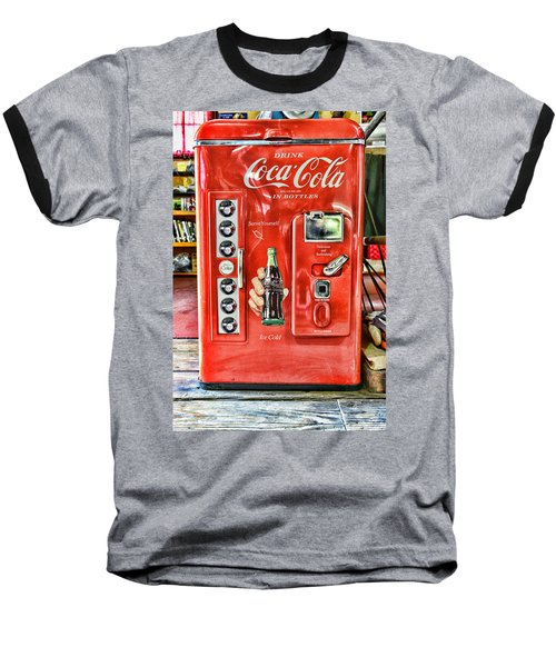 Coca-cola Retro Style Baseball T-Shirt