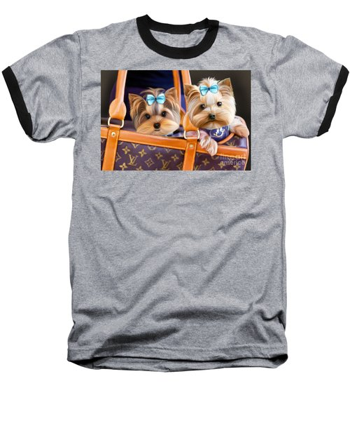 Coco And Lola Baseball T-Shirt