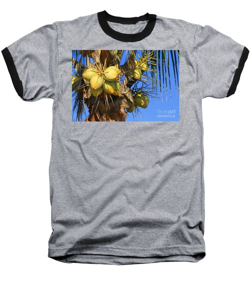 Baseball T-Shirt featuring the photograph Coconut 2 by Teresa Zieba