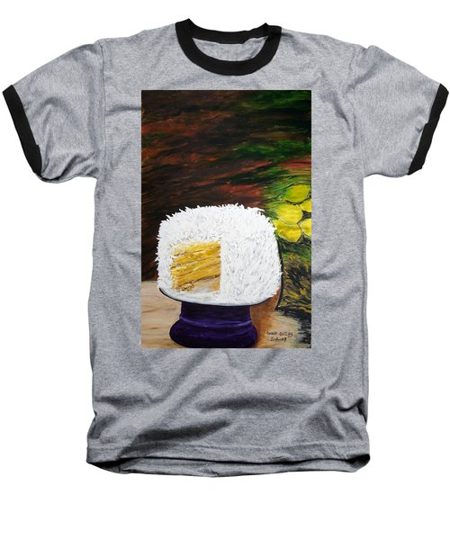 Coconut Cake Baseball T-Shirt