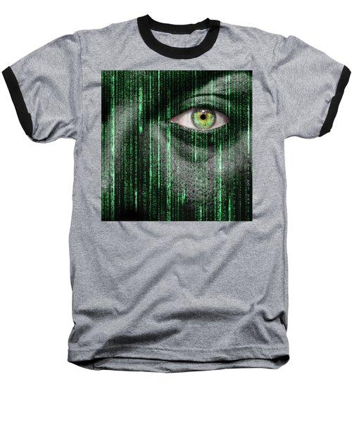 Code Breaker Baseball T-Shirt by Semmick Photo