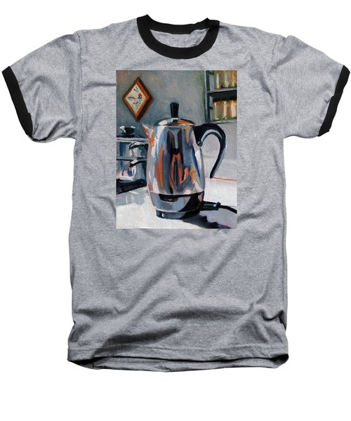 Coffeepot Baseball T-Shirt