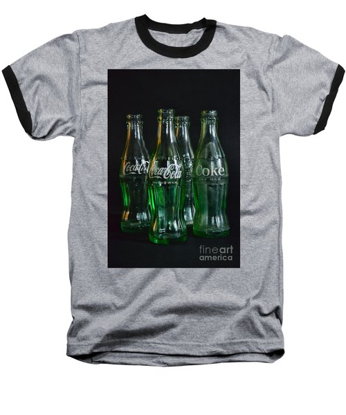 Coke Bottles From The 1950s Baseball T-Shirt by Paul Ward