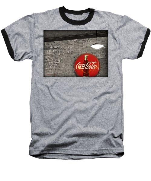 Coke Cola Sign Baseball T-Shirt