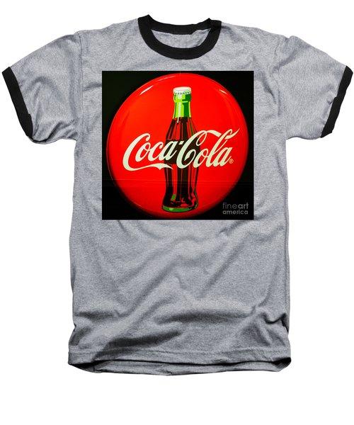 Coke Top Baseball T-Shirt by Tikvah's Hope