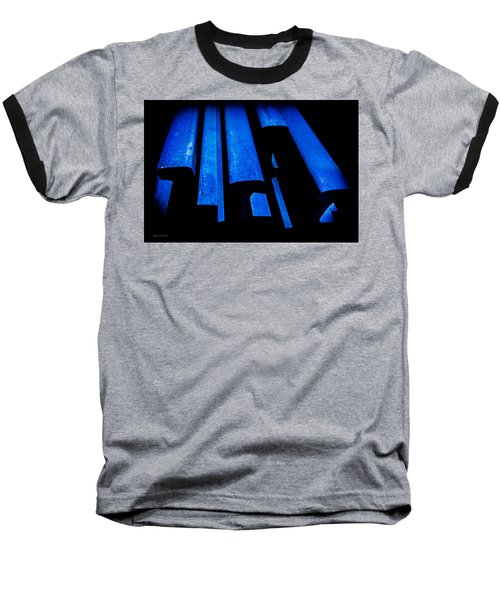 Cold Blue Steel Baseball T-Shirt
