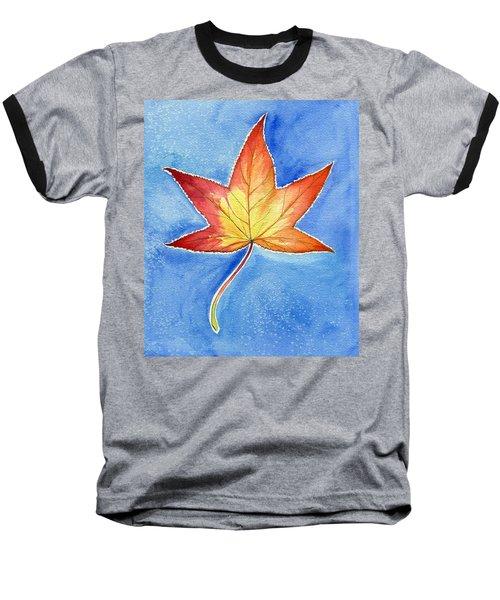 Cold Fall Sky Baseball T-Shirt