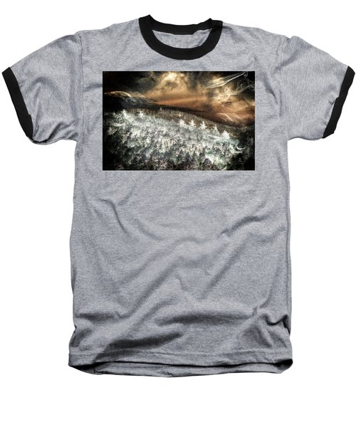 Cold Mountain Baseball T-Shirt by Tom Culver