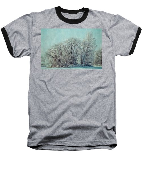 Cold Winter Day Baseball T-Shirt