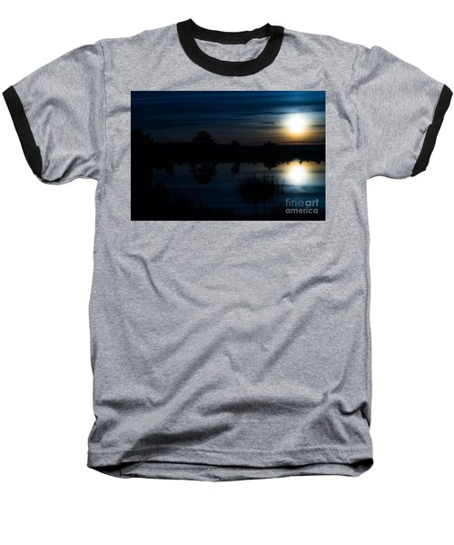 Cold Winter Morning Baseball T-Shirt