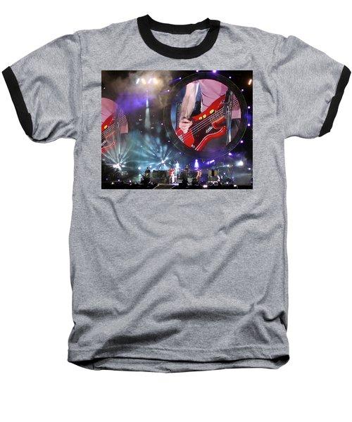 Coldplay - Sydney 2012 Baseball T-Shirt by Chris Cousins