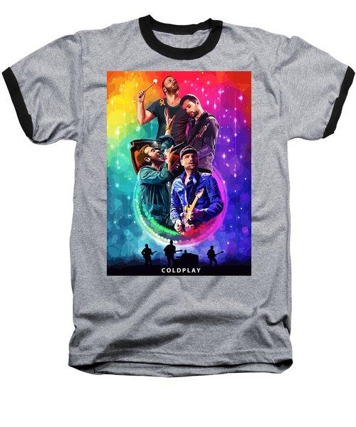 Coldplay Mylo Xyloto Baseball T-Shirt