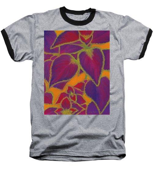 Coleus Gone Wild Baseball T-Shirt