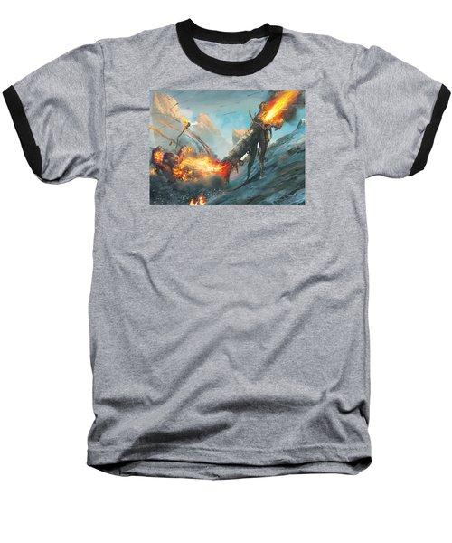Collateral Damage Baseball T-Shirt