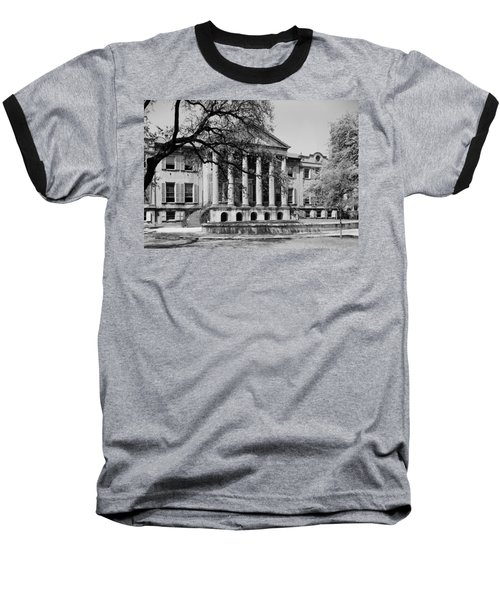 College Of Charleston Main Building 1940 Baseball T-Shirt