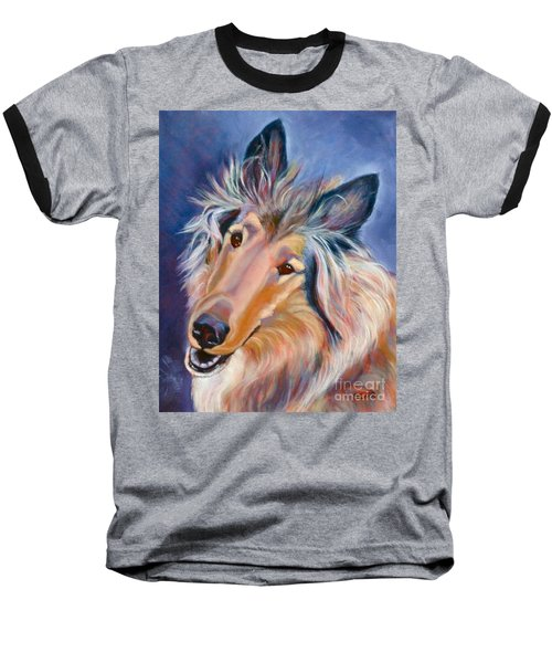 Collie Star Baseball T-Shirt
