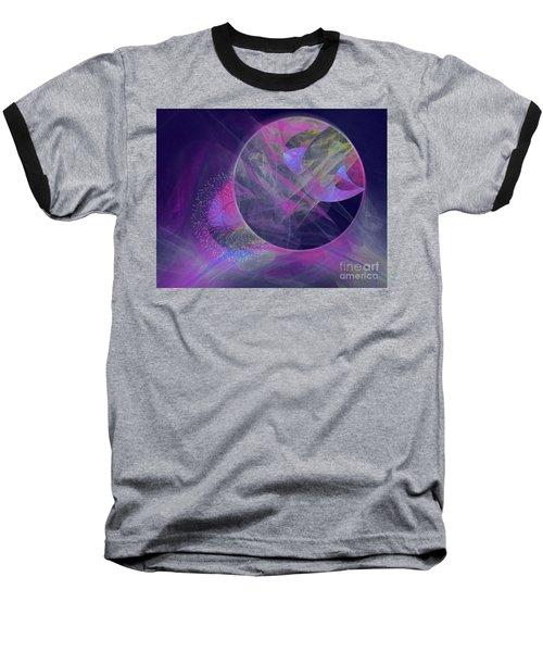 Collision Baseball T-Shirt by Victoria Harrington