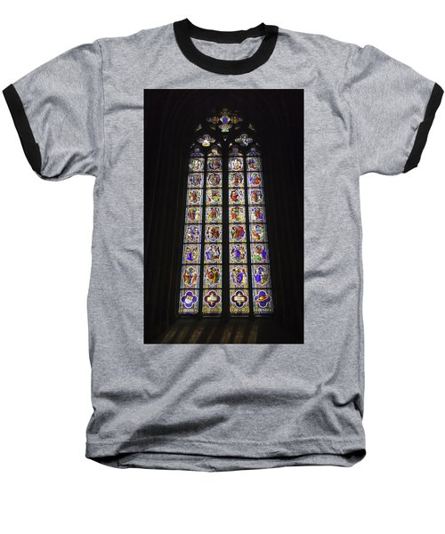 Cologne Cathedral Stained Glass Life Of Christ Baseball T-Shirt
