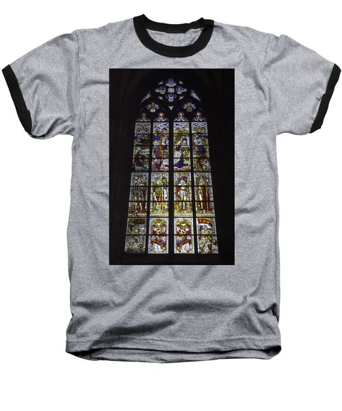 Cologne Cathedral Stained Glass Window Of The Nativity Baseball T-Shirt