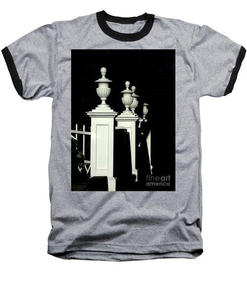 Colonial Fence Baseball T-Shirt