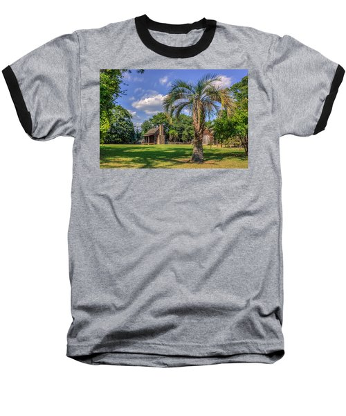 Colonial Paradise Baseball T-Shirt by Rob Sellers