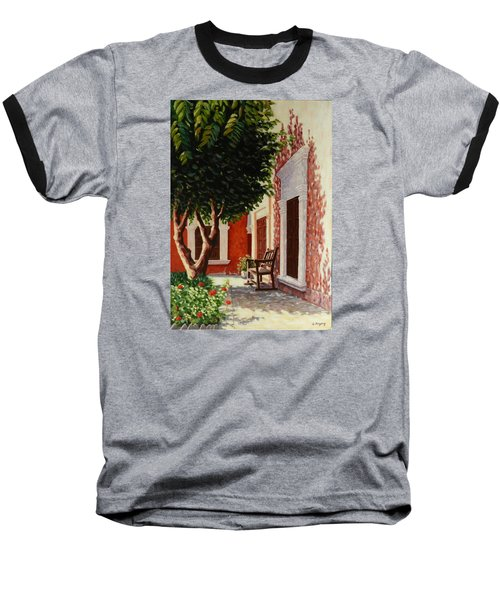 Colonial Patil,peru Impression Baseball T-Shirt