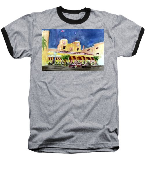 Colony Hotel In Delray Beach Baseball T-Shirt
