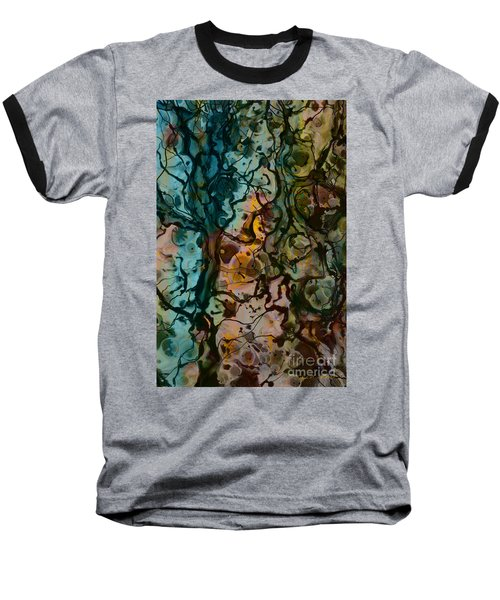 Color Abstraction Xvi Baseball T-Shirt