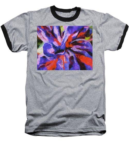 Baseball T-Shirt featuring the digital art Color My Insecurity by Joe Misrasi