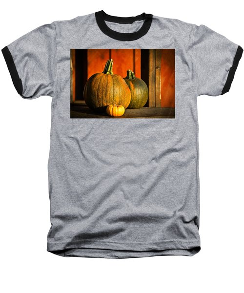 Color Of Fall Baseball T-Shirt by Aaron Berg