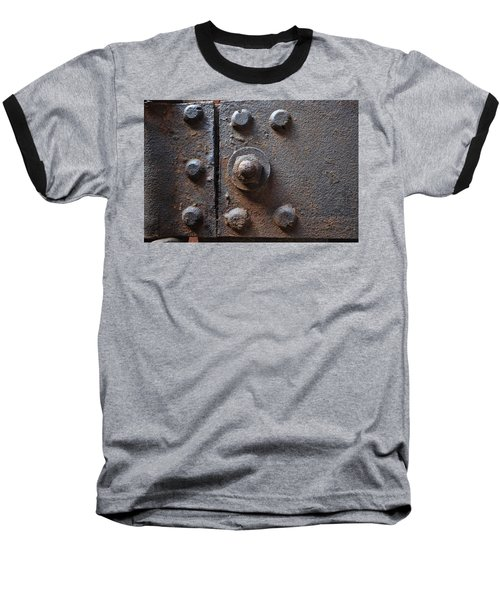 Baseball T-Shirt featuring the photograph Color Of Steel 3 by Fran Riley