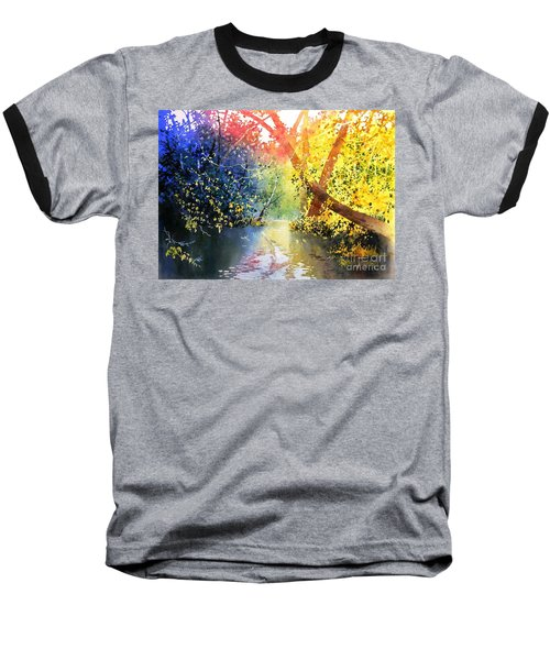 Color Of Trees Baseball T-Shirt