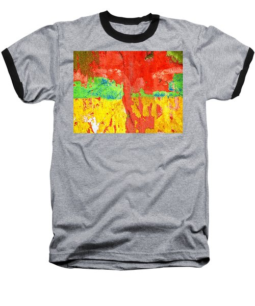Color Splash  Baseball T-Shirt