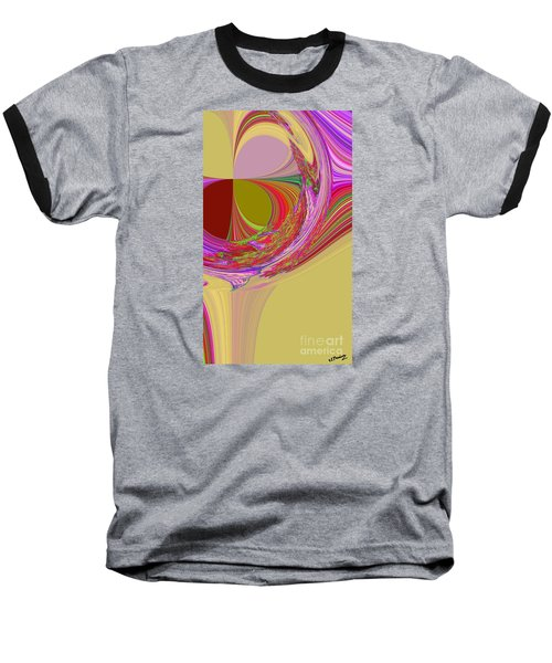 Color Symphony Baseball T-Shirt by Loredana Messina