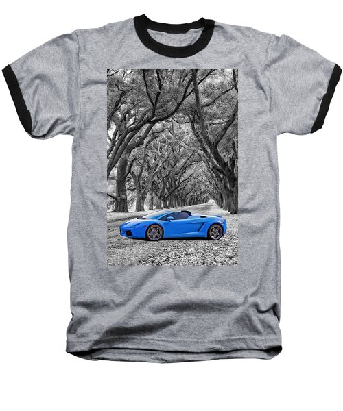 Color Your World - Lamborghini Gallardo Baseball T-Shirt