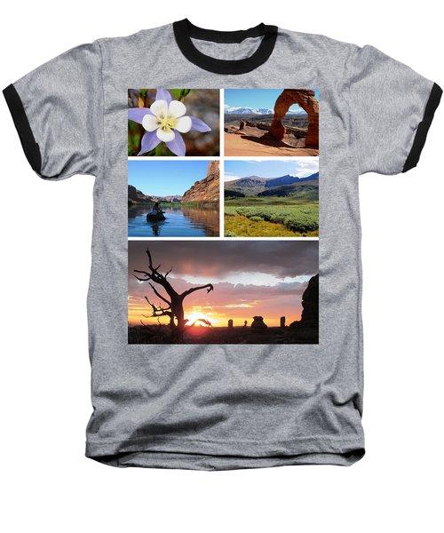 Colorado Utah Calendar 2018 Baseball T-Shirt